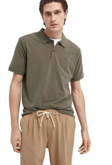 CLASSIC ORGANIC COTTON-PIQUE POLO