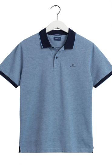 D2. 4-COL OXFORD PIQUE SS RUGGER חולצת פולו