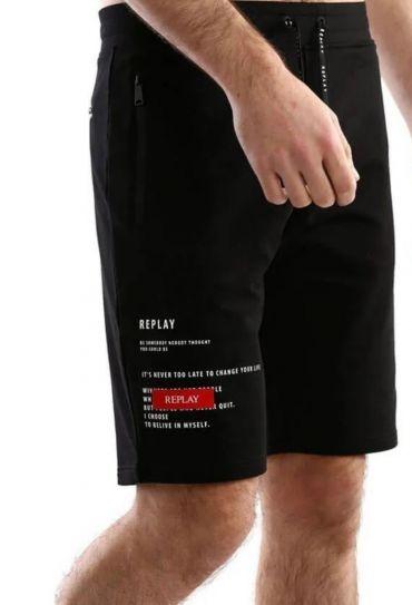 M FT SHORT PANTS 21269808 BLACK 99