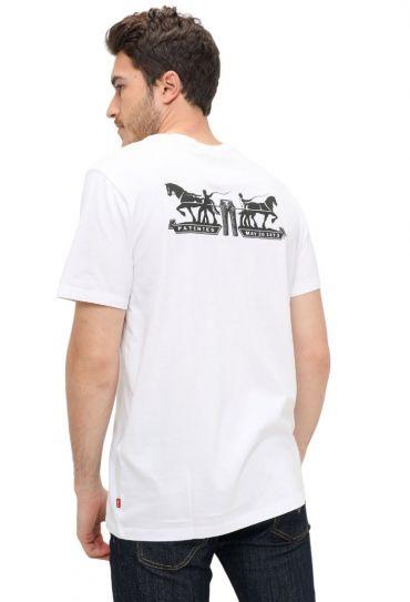 22495-0077 2-HORSE GRAPHIC TEE טישירט שרוול קצר