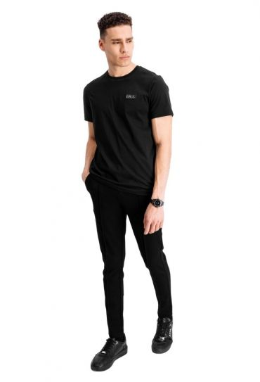 FELT LOGO STRAIGHT BRAND T-SHIRT