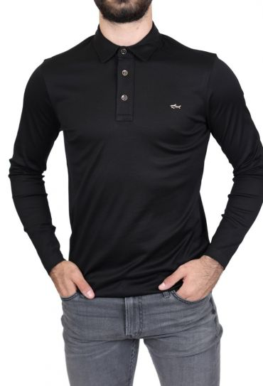 P11136 011 XS-XXL MENS KNITTED POLO SHIRT C.W. C
