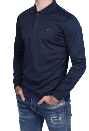 1P11297 013 XS-XXL MENS KNITTED POLO SHIRT C W C