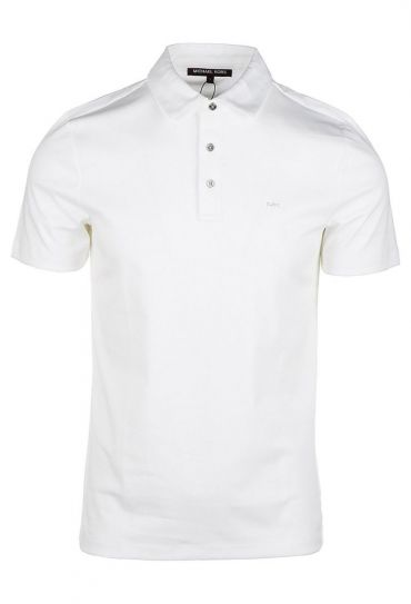 CB95FGVC93-100 SLEEK MK POLO WHITE חולצת פולו  ש