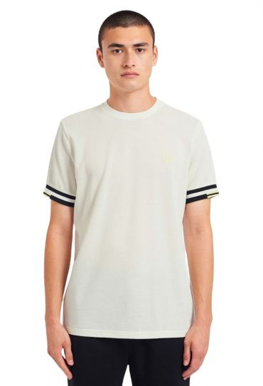 ABSTRACT CUFF T-SHIRT טישירט שרוול קצר