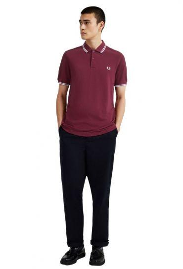 TWIN TIPPED  SHIRT חולצת פולו  שרוול קצר