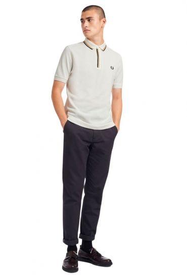 TIPPED PLACKET POLO SHIRT חולצת פולו  שרוול קצר