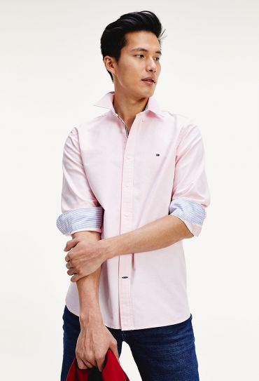 ORGANIC OXFORD SHIRT Light Pink