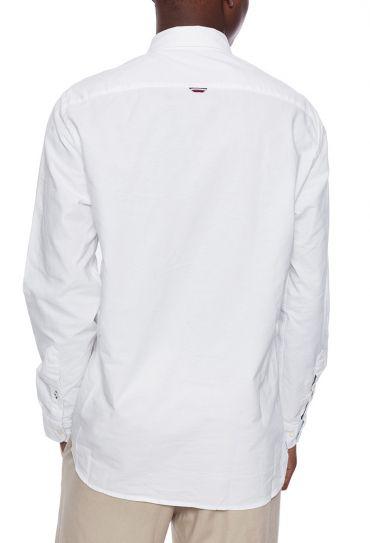 ORGANIC OXFORD SHIRT WHITE