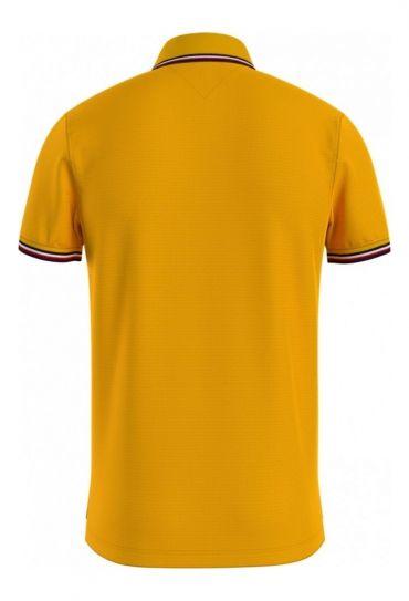 חולצות פולו  שרוול קצר P7 TOMMY TIPPED SLIM POLO