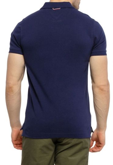 חולצות פולו  שרוול קצר DY4 GS PLACKET SLIM POLO
