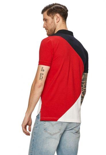 חולצות פולו  שרוול קצר L COLORBLOCK REGULAR POLO
