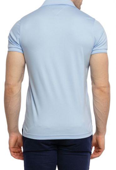 חולצות פולו  שרוול קצר Q INTERLOCK ZIP SLIM POLO