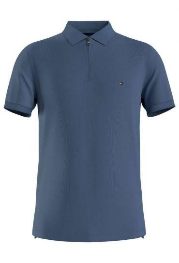 חולצות פולו  שרוול קצר 8 INTERLOCK ZIP SLIM POLO